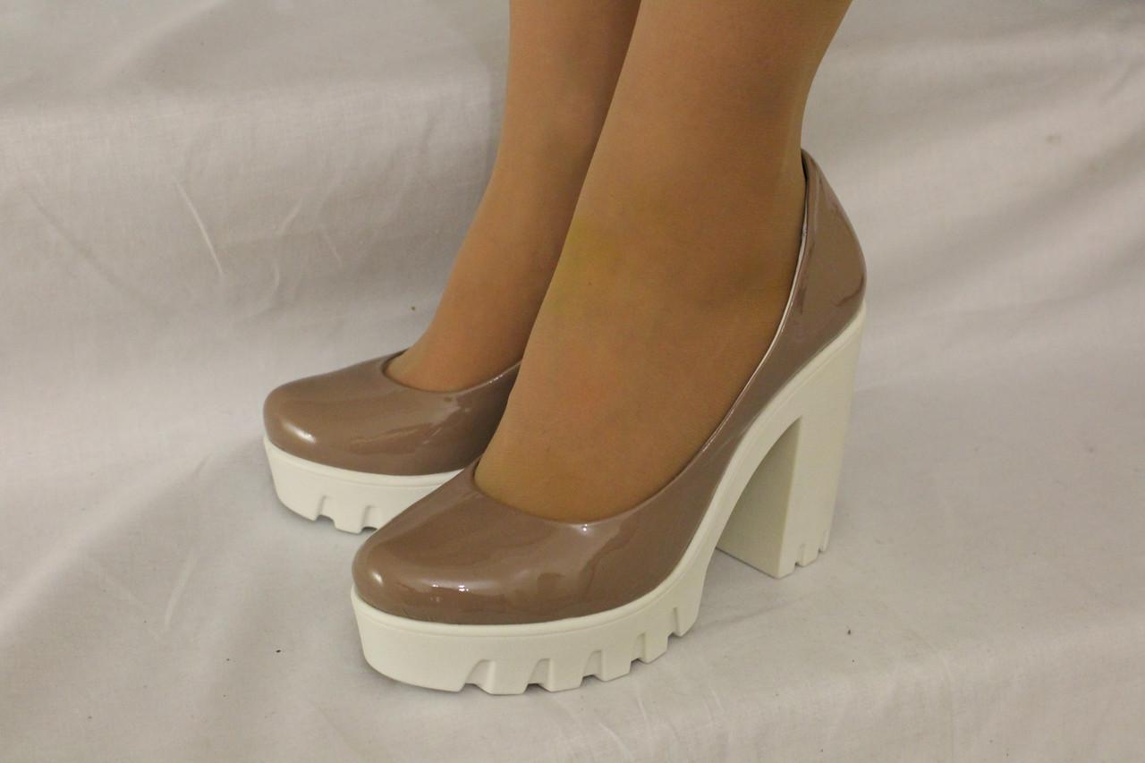 e1cbfecf9 Туфли на устойчивом каблуке. Натуральная кожа 0606: продажа, цена в ...