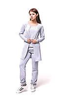Женский спортивный костюм С-7 Серый, фото 1