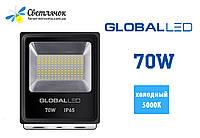 Светодиодный прожектор 70W GLOBAL 5000К(Холодный)