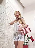 Женские шорты белые короткие с паетками Rinascіmento
