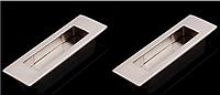 Ручки на  систему VERTU 186мм  брашированый никель