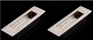 Ручки на  систему VERTU 155мм брашированый никель