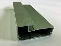 Алюминиевый рамочный профиль, цвет серебро
