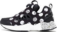 Мужские кроссовки Reebok Insta Pump Fury Road SG Polka Dot Black White c612a5c337f31