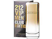Оригинал Carolina Herrera 212 VIP Men Club Edition 100ml edt Каролина Херрера 212 Вип Мен Клаб Эдишн
