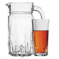 Набор стаканов для сока с графином (7 пр.)  Pasabahce Karat 97045