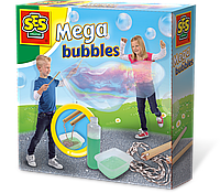Набор для создания гигантских мыльных пузырей - МЕГА (мыльный раствор, инструменты), фото 1