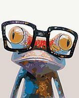 Раскраска по номерам Умный лягушонок (BRM9344) 40 х 50 см