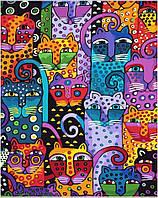 Раскраска по номерам 40 кошек Худ Лорел Берч (BRM9372) 40 х 50 см