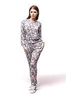 Женский спортивный костюм С-5 Цветы