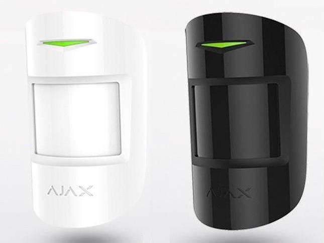 Беспроводной датчик движения Ajax MotionProtect Wite/Black
