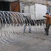 Спираль Егоза Кайман 1100/7 ограждение из колючей проволоки, фото 1