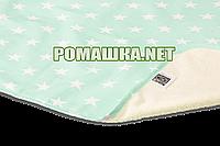 Детская непромокаемая пеленка 50х70 см двухсторонняя дышащая многоразовая Eсo Cotton ЭКО ПУПС 3658 Звёзды