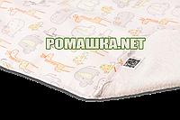 Детская непромокаемая пеленка 65х90 см двухсторонняя дышащая многоразовая Eсo Cotton ЭКО ПУПС 3658 Зоопарк