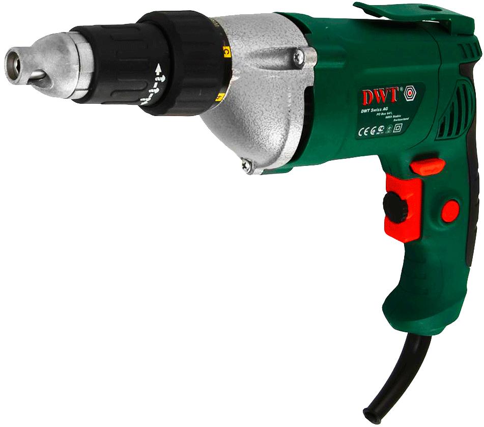 Сетевой шуруповерт DWT TS-550 V