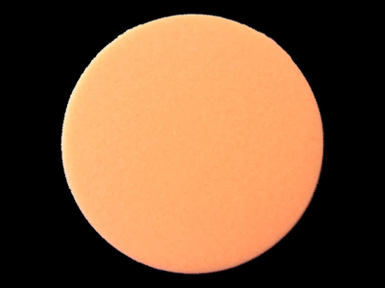 Полірувальний круг середньої жорсткості - New Concept Soft Orange 133 мм помаранчевий (NC-10011)