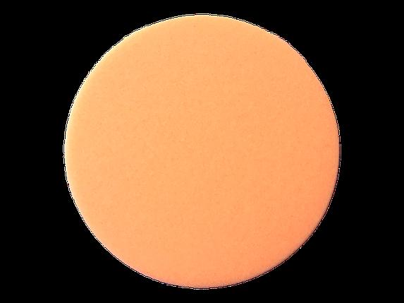 Полірувальний круг середньої жорсткості - New Concept Soft Orange 133 мм помаранчевий (NC-10011), фото 2