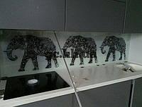 Скинали. Стеклянные панели. УФ печать на закаленном стекле.