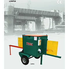 Станок для очистки опалубки TRIAX LIMPIA (220 В)