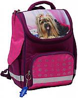 Школьный замечательный рюкзак для девочек 1-3 класс на 12 л. Bagland, Успех 00551702-pink-2 розовый