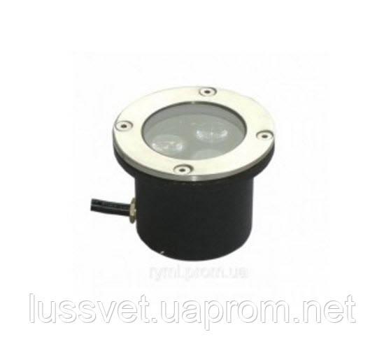 Грунтові світильники світлодіодні 3 Вт Lemanso LM986