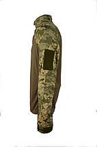 Тактическая рубашка (UBACS) камуфляжная ММ14 (пиксель ВСУ, порошенко), фото 3