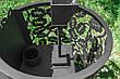"""Печь для бани на дровах """"Жанна"""" (каменка с выносом, со стеклом, с парогенератором), 8мм, фото 3"""