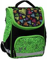 Школьный яркий рюкзак для девочек 1-3 класс на 12 л. Bagland, Успех 00551702-green зеленый