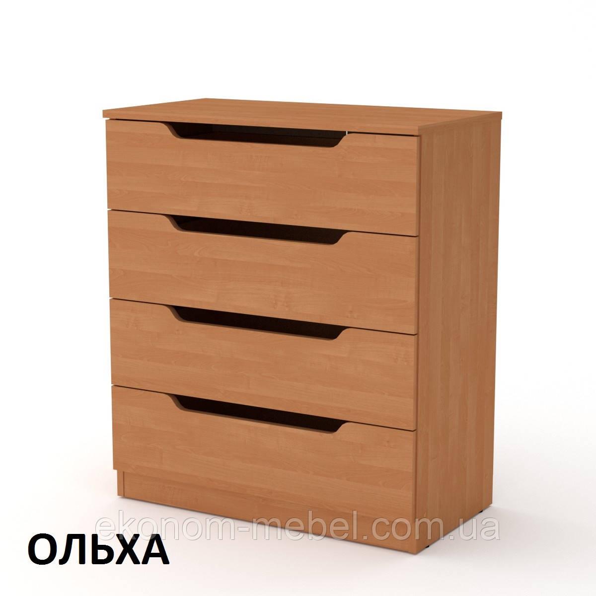 Комод-4М без ручек, скандинавский