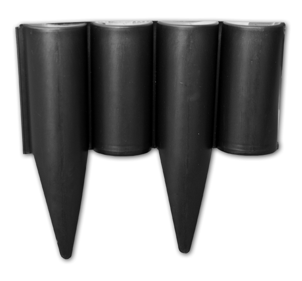 Палісад PALGARDEN чорний - 2,5 м