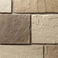 Декоративный камень Римский блок (желтый паленый)