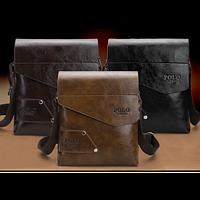 Стильная модная сумка Polo для модного мужчины. Отличное качество. Доступная цена. Дешево. Код: КГ1198