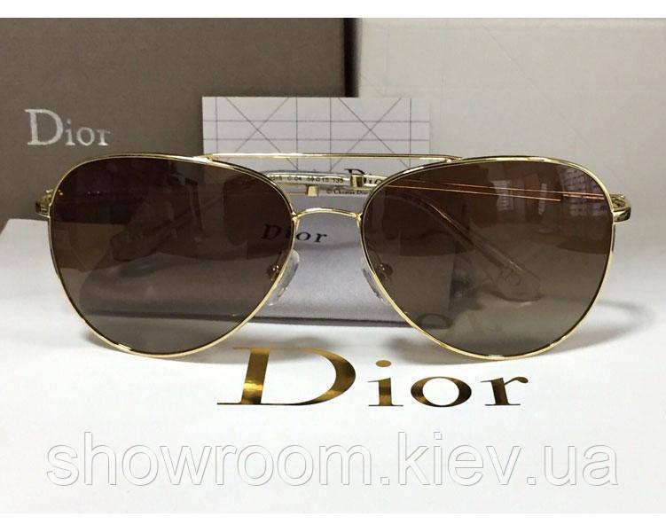 Женские солнцезащитные очки авиаторы (2502)