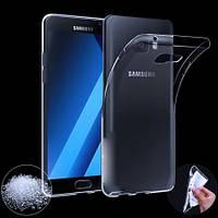 Прозрачный Slim чехол Samsung Galaxy A3 2017 SM-A320