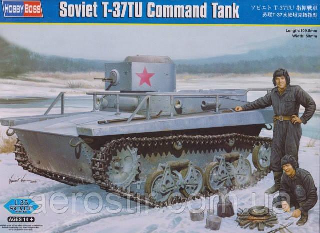 Soviet T-37TU Command Tank 1/35 HOBBY BOSS 83820