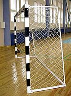 Сетка футбольная простая 4,0 мм, на ворота 2*1,5 м