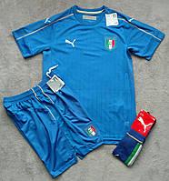 Форма сборной Италии (синяя)