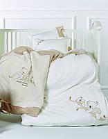 Детское постельное белье для младенцев с игрушкой Karaca Home - Koala ранфорс
