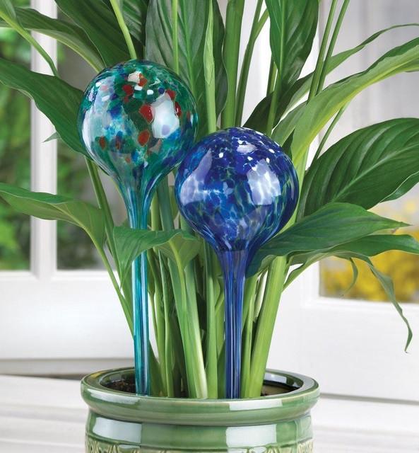 Колба для автоматичного поливу рослин Aqua Globes Hand Blown Glass