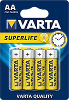 Батарейки Varta - Superlife АА R6 1.5V 4/48/240шт