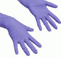 Нитриловые перчатки S черные