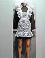 Школьная форма на последний звонок. Платье+фатрух, можно отдельно.
