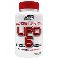 Спортивное питание LIPO-6 Maximum Strength 120 жидких капсул