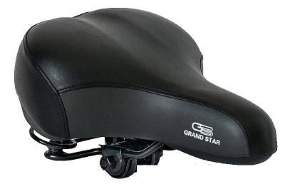 Седло велосипедное c пружинами Grand Star