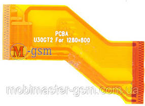 Шлейф для планшета CUBE U30GT (p/n: clsfpc40-f029d)  ver1