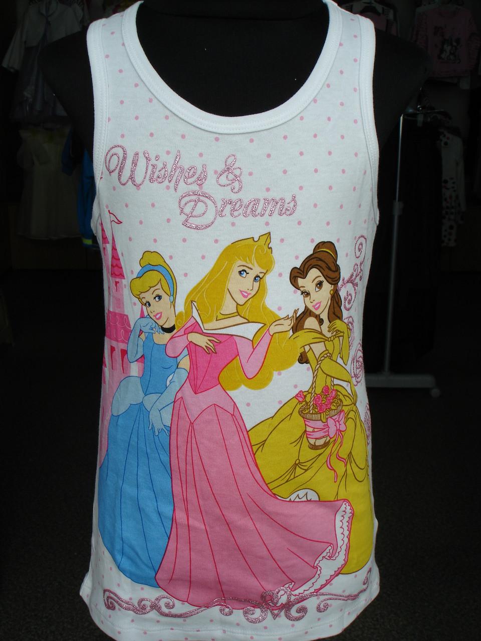 Майка летняя для девочки Disney Принцессы.