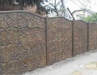 Сборный бетонный забор. Заборы бетонные сборные. Элементы забора
