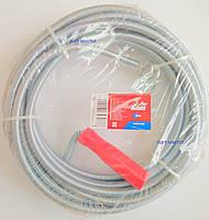 Трос спиральный для очистки канализационных труб 8 м. х 10 мм.