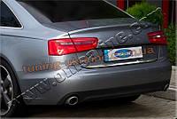 Нижняя кромка крышки багажника Omsa на Audi A6 2011-2014