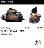 Стартер Fiat Ducato   Citroen Jumper   Peugeot  Boxer  2.5-2.8  D Td TDI HDI JTD    CS1109  БУ